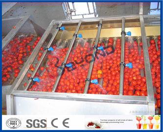 토마토 가공 라인