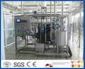 1500LPH UHT Milk Processing Line , Milk Powder Fresh Milk UHT Dairy Processing Plant