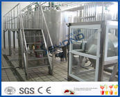 Continuous Butter Making Process Stainless Steel Butter Churn / Milk Pasteurizer Machine