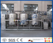 1000L - 10000L Cleaning In Place System , Cip Systems Dairy Industry With 4 Tank Double Circuits