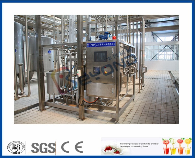 SUS304 Small Scale Milk Pasteurization Equipment , PLC Touch Screen Dairy Tech Pasteurizer