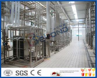 저온 살균 UHT 우유 / 크림 / 버터를 위해 다기능 우유 생산 기계