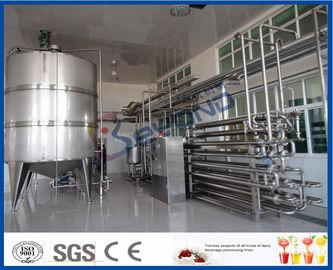 우유 가공 공장 용 무균 절차 우유 저온 살균 장비